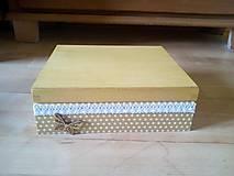Krabičky - bodkovaná - 9640960_