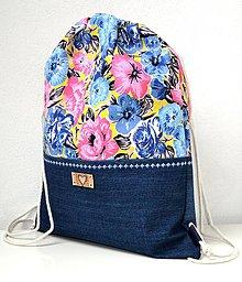 Batohy - Batoh s kvetmi - 9640559_