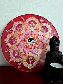 Dekorácie - Mandala - ženská rovnováha - 9641088_