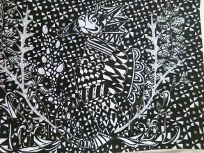 Kresby - Morský koník...... - 9640690_