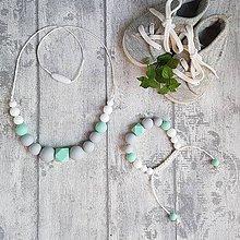 Sady šperkov - Set silikónových šperkov