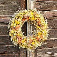 Dekorácie - Prírodný veniec na dvere - 9639837_