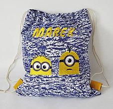 Detské tašky - ruksačik -mimoni - 9640186_