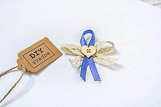 Pierka - Svadobné pierko - Modré - 9639698_