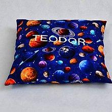 Textil - Vankúšik planétky. - 9641068_