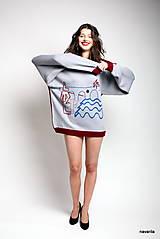 VLTAVA - originální pánský svetr dvoubarevný