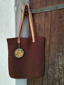 Veľké tašky - hnedá - 9641481_