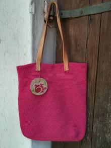 Veľké tašky - ružová - 9641646_