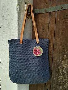 Veľké tašky - modrá - 9641762_