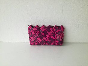 Peňaženky - Ružová peňaženka - 9640064_