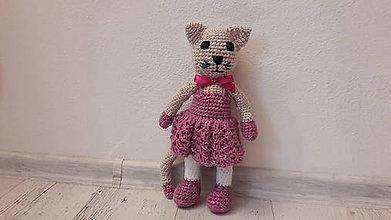 Hračky - slečny mačičkovééé (Fialová) - 9641586_
