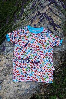 Detské oblečenie - Tričko s krátkým rukávem