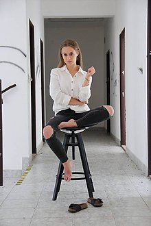 Košele - SIMONKA košeľa biela - 9644218_