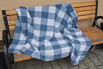 Úžitkový textil - Háčkovaná deka - 9644304_