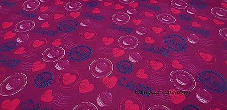 Textil - Nepremokavá látka- Urdun - Cake - cena za 10 cm - 9644720_