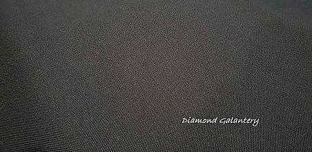 Textil - Nepremokavá látka - Urdun šedý tmavý - cena za 10 cm - 9644768_