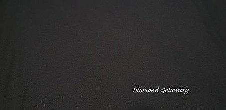 Textil - Nepremokavá látka - Urdun - čierny- cena za 10 cm - 9644790_
