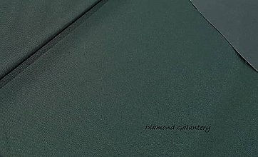 Textil - Nepremokavá látka - Urdun - tmavo zelený - cena za 10 cm - 9644796_