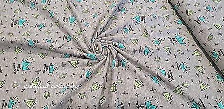 Textil - Úplet - Little Princess- cena za 10 cm - 9644860_