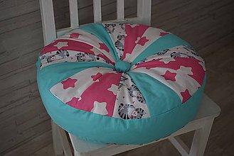 Textil - DĚTSKÝ PUF ...kočky - 9642920_