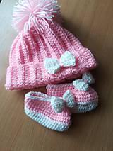 Detské čiapky - Nežná - 9643589_