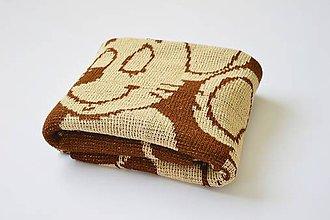 Textil - Detská pletená deka - 9644463_