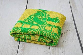 Textil - Detská pletená deka - 9644502_