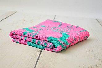 Textil - Detská pletená deka - 9644545_