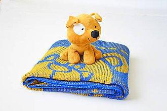 Textil - Detská pletená deka - 9644608_