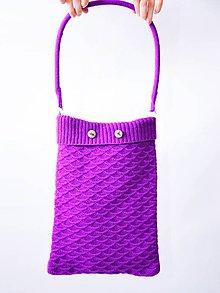 Nákupné tašky - Pletená taška - 9644644_