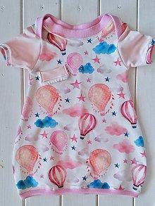 Detské oblečenie - Balónové šaty - 9644809_