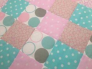 Úžitkový textil - deka pre deti PASTEL - 9643552_