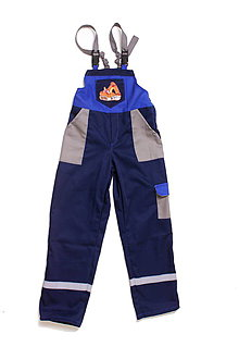 Textil - Detské montérky Báger v2 - 9643321_