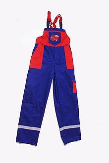 Textil - Detské montérky modré Tatra - 9643387_