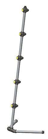 Svietidlá a sviečky - Rohová industriálna lampa - 9643461_