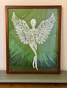 Obrazy - Veľký anjel - 9644847_