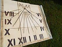 Socha - Slnečné hodiny - 9643072_