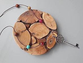 Iné šperky - Prívesok s minerálmi ,,Kľúč Pakľúč,, - 9643525_