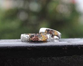 Prstene - Tepané obrúčky
