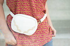 Iné tašky - Mini kabelka na pas (ledvinka) 2.2 - 9647512_