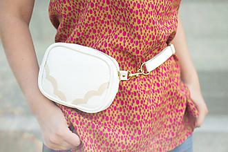 Iné tašky - Mini kabelka na pas (ledvinka) 2.2 - 9647514_
