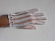 Rukavice - Háčkované rukavičky - 9647350_