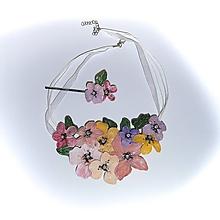 Náhrdelníky - slnečné flowers 13 - 9646259_