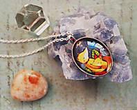 Náhrdelníky - Bumpkinovej šperk/ Dve líšky - 9647187_