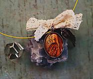 Náhrdelníky - Bumpkinovej šperk/ Dušička pomôže - 9647219_