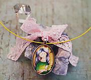 Náhrdelníky - Bumpkinovej šperk/ Malý Kapustníček - 9647247_