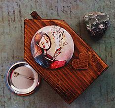 Odznaky/Brošne - Bumpkinovej Butón/ Jeseň v mojej šálke - 9647129_