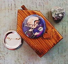 Odznaky/Brošne - Bumpkinovej Butón/ Nemá čas - 9647137_