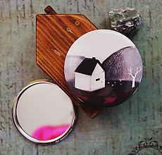 Zrkadielka - Bumpkinovej zrkadielko/ Môj dom - 9647149_