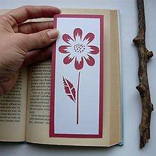 Papiernictvo - Ružový kvietok... - 9645502_